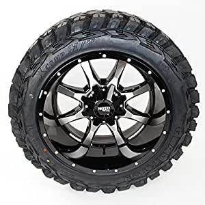 Amazon Com Wheel Amp Tire Package 20x12 Moto Metal Mo970