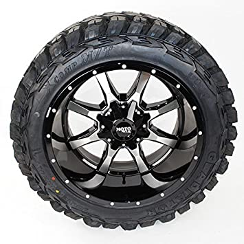 Off Road Rims And Tires Package >> Amazon Com Wheel Tire Package 20x12 Moto Metal Mo970