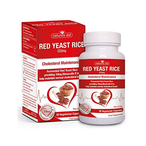 - Natures Aid Red Yeast Rice 333mg 30 Capsules