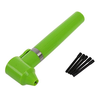 SODIAL(R) mezclador verde de tintas pigmento + 5 palos mezcla de suministro para