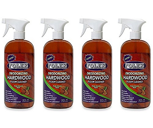 Folex Professional 34-Ounce Deodorizing Hardwood Floor Cleaner (Pack of 4) by Folex (Image #3)