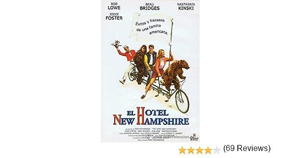 El Hotel New Hampshire [DVD]: Amazon.es: Jodie Foster, Nastassia ...