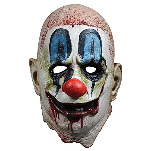 Loftus International Rob Zombie 31 Poster Mask Full Head Mask White Red Blue One-Size Novelty Item]()