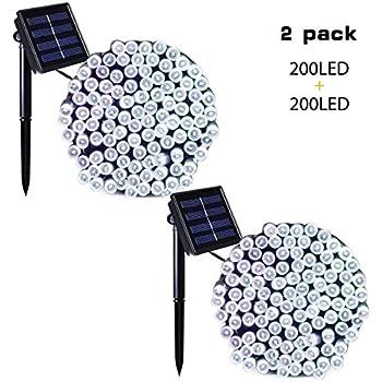 Amazon Com Solar Snowflake Christmas Tree Garden Stake