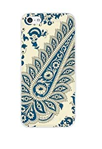 DECO FAIRY? Indian Paisley Pattern Hard Case Cover for Apple iPhone 5C