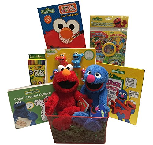 elmo basket - 2