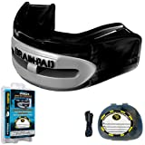 Brain-Pad Pro+Plus Double Laminated Strap/Strapless Combo in one Adult Mouthguard