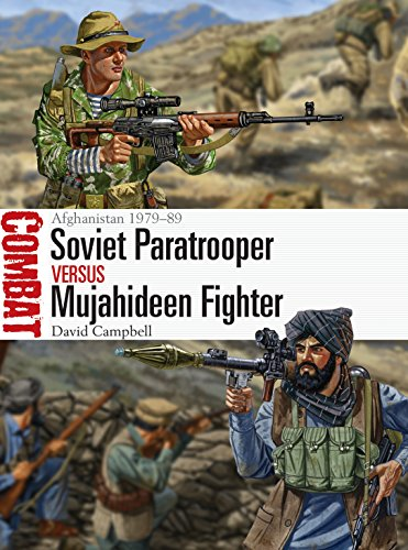 Soviet Paratrooper vs Mujahideen Fighter: Afghanistan 1979–89 (Combat Book 29) (English Edition) por [Campbell, David]