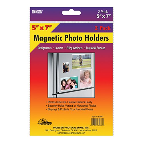 Pioneer 606807 Freez-A-Frame Photo Albums 5X7 in. Magnetic Photo Frame (Frame In A Collage)