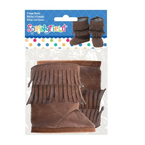Springfield Collection by Fibre Craft Fringe Boots