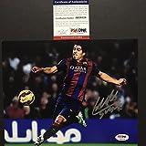 Autographed/Signed Luis Suarez FC Barcelona Soccer 8x10 Soccer Photo PSA/DNA COA