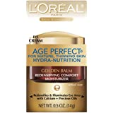 L'Oreal Paris Age Perfect Hydra-Nutrition Golden Balm Eye, 0.5 Fluid Ounce