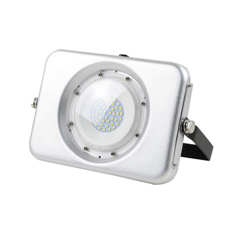 LED Faretto da Esterno,Proiettore Per Stadio Da Esterno Per Negozio Di Luci Da Esterno Ultraleggero A Tenuta Stagna (colore   Positive bianca light-50W)