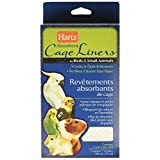 Hartz 02913 Absorbent Cage Liners 7-Pack