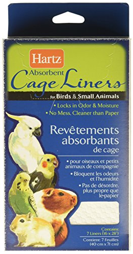 HARTZ Absorbent Cage Liners for Birds & Small Animals - (Bird Liner)