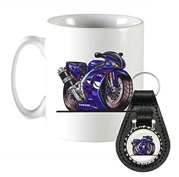 k606-mk KOOLART Regalos Cartoon Yamaha YZF-R6 R6 motocicleta ...