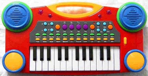 """Electronic Organ Music Keyboard for Kids - 16"""""""
