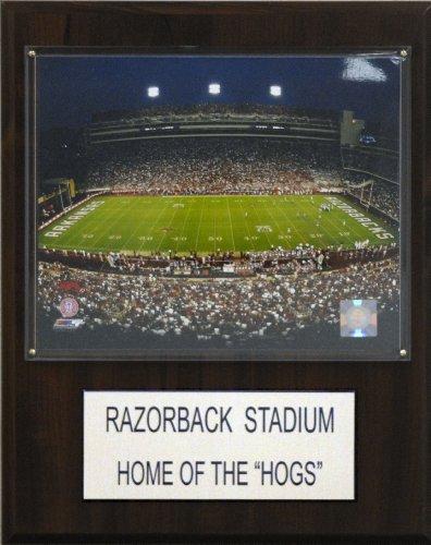 NCAA Football Razorback Stadium Stadium Plaque