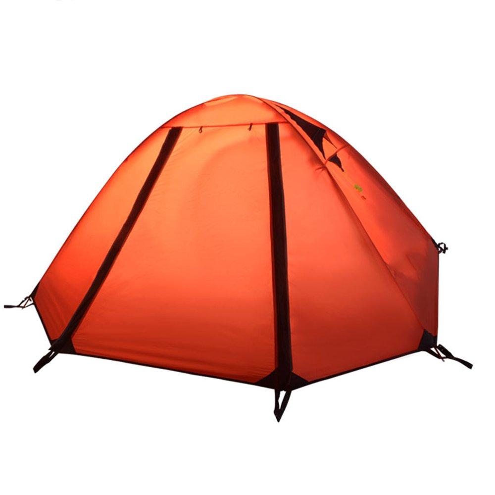 Doppeltes Zelt des im Freien Doppeltes mit Hallentourismus-kampierendem kampierendem kletterndem Aluminiumstab tragbares breathable wasserdicht winddicht