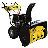 Stanley 36-Inch Two-Stage Gas Snow Blower, Black/Yellow