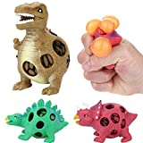 Winkey Toys for Kids Baby Boys Girls, 2018 Newest Dinosaur Model Grape Venting Balls Squeeze Pressure Stress Ball Stress Relief Toy