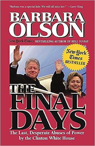 The Final Days: Barbara Olson:...