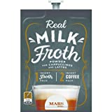 Real Milk Froth Powder Freshpacks for MARS DRINKS FLAVIA Brewers, 18 Packets