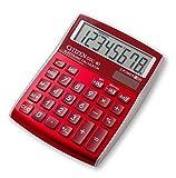 CITIZEN CDC80 Designline 108 x 135 x 24 mm Desktop Calculator - Red
