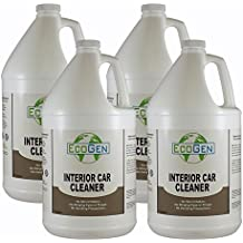EcoGen ECOINT-GCS Interior Car Cleaner, Unscented, Gallon (Case of 4)