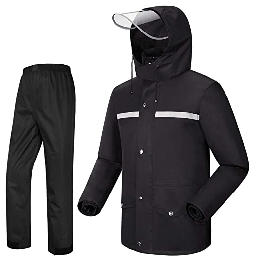 Chubasquero Traje de pantalones de lluvia, chaqueta ...