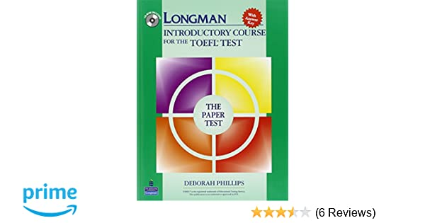 Amazon Com Longman Introductory Course For The Toefl Test The
