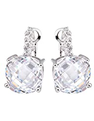 Richy-Glory - White Gold 925 Sterling Silver Filled Ball Stud Earrings