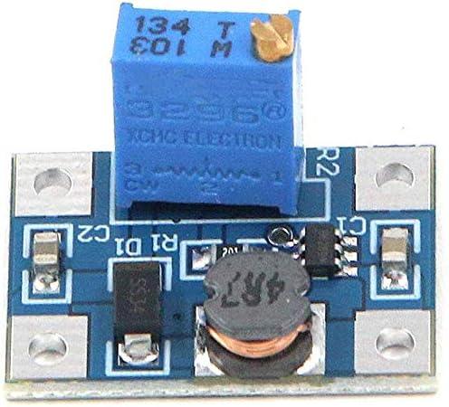 FarBoat 5Pcs SX1308 Voltage Regulator 2A DC-DC 2-24V 2-28V Volt Converter Step Up Boost Power Supply Module