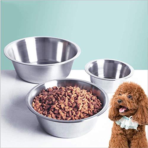XXL Stainless Steel Bowl for Dogs, 400ml/860ml/1560ml/2020ml/3600ml,3600ml