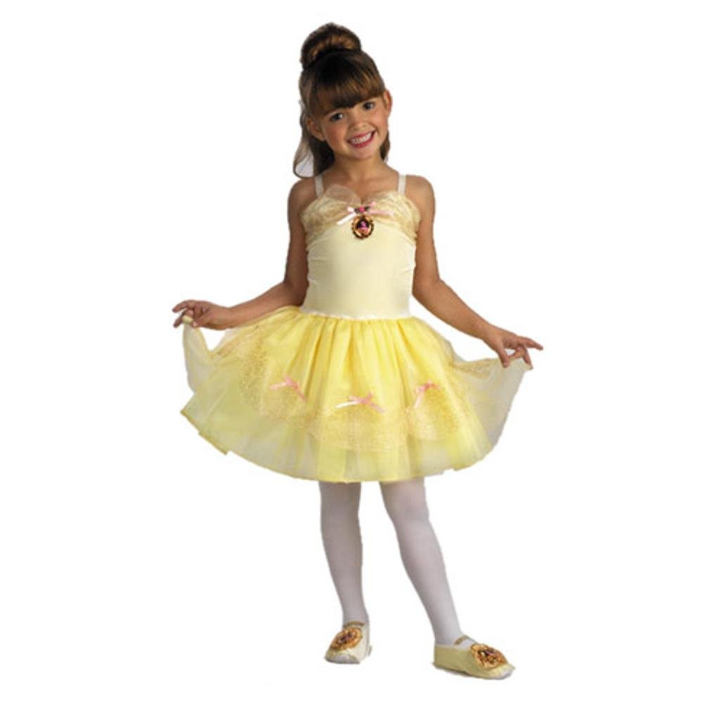 Amazon.com Belle Ballerina Costume Toddler Girl - Toddler 3-4T Toys u0026 Games  sc 1 st  Amazon.com & Amazon.com: Belle Ballerina Costume Toddler Girl - Toddler 3-4T ...