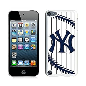 New York Yankees White New Personalized Custom iPod Touch 5 Case