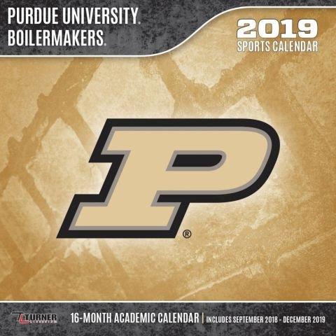 Purdue Academic Calendar 2019 Purdue Boilermakers 2019 calendario: Lang Holdings Inc