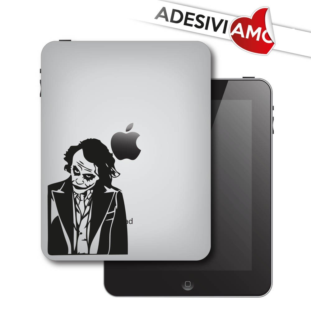 Sticker'Joker's Style - Batman' adesivo prespaziato per Apple iPad e iPad mini Vinyl Decal Koeso