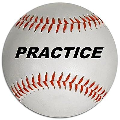 Diamond DLL-1 X Out Blem Practice Baseballs (1 Dozen)