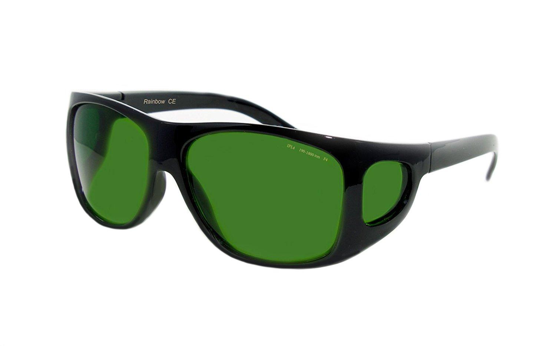 Rainbow safety Gafas Protección IPL Depilación Accesorios Luz Pulsada Intensa (190-1800nm Filtro F4) IPL-4R