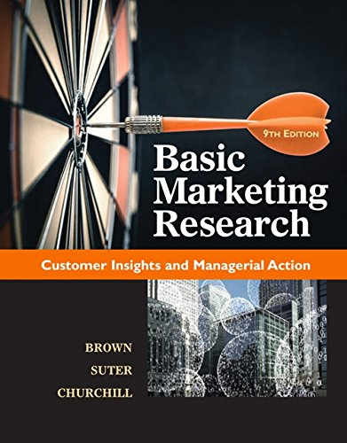 Books : Basic Marketing Research (with Qualtrics, 1 term (6 months) Printed Access Card)