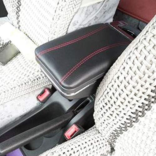 Drehbare Armlehne Für 307 Schwarz Gewinde Aufbewahrungsbox Armlehne Schwarz Mit Rotem Faden Auto