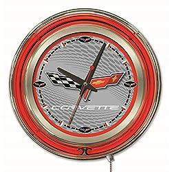 Corvette - C6 Neon Clock