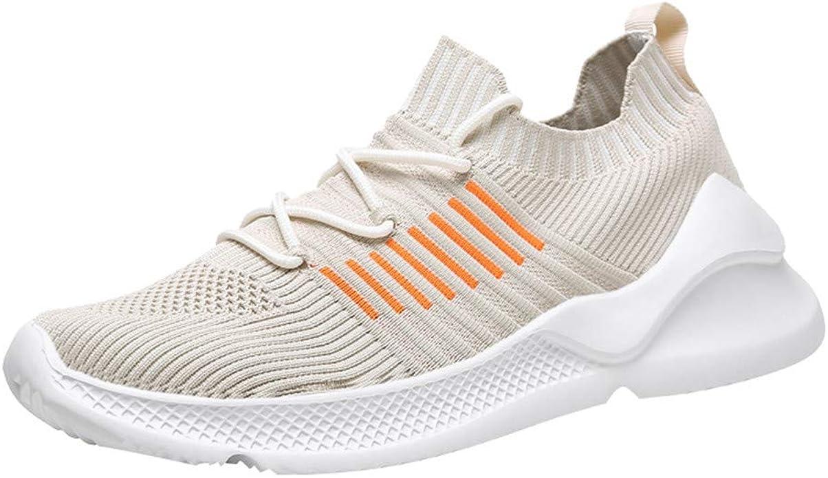 LANSKIRT Zapatillas Deportivas Transpirables de Verano para Hombre, Zapatos de Viaje de Malla Running,39-45: Amazon.es: Zapatos y complementos