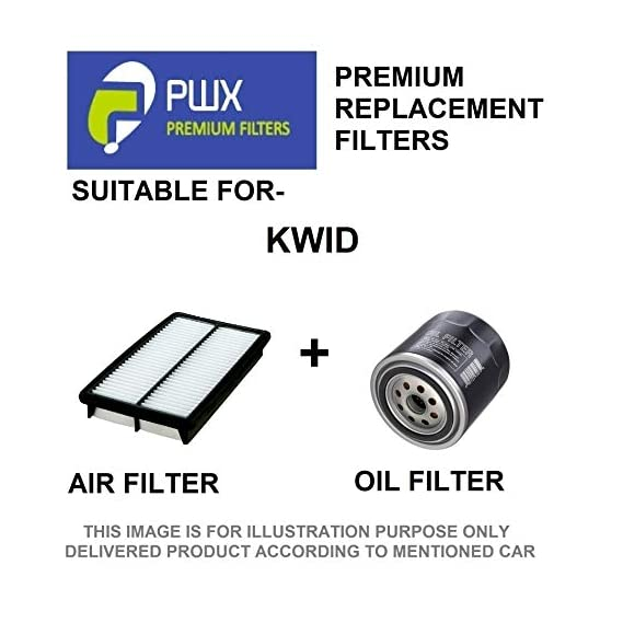 PWX Air Filter + Oil Filter For Kwid