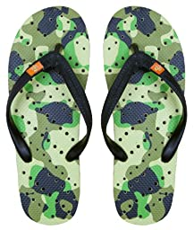 Showaflops Boys\' Antimicrobial Shower & Water Sandals - Camo 13/1