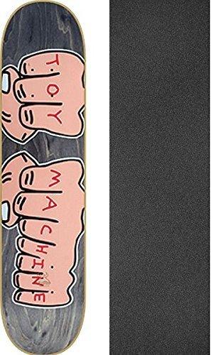 鉄負担非常に怒っていますToy MachineスケートボードスケートボードデッキFistsアソートカラー – 7.75