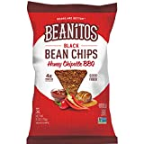 Beanitos Honey Chipotle BBQ Black Bean Chips, Plant Based Protein, Good Source Fiber, Gluten Free, Non-GMO, Corn Free Tortilla Chip Snack, 6 Ounce (Pack of 6)