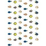 Partyrama Lot de 6 cordes des poissons tropicaux
