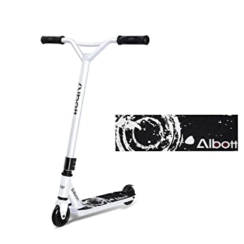 Amazon.com: Albott Sports Pro Push Stunt Scooter Trick Kick ...